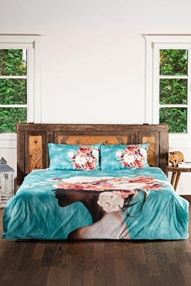 home-bath Çift Kişilik Nevresim Seti Romantic Dreams Renkli